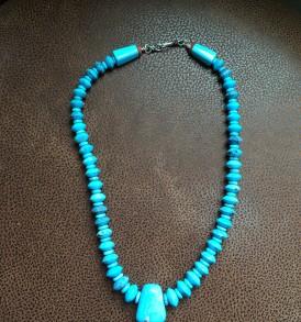 Gem turquoise necklace