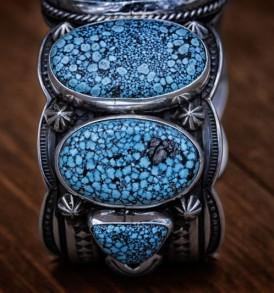 Spectacular Jumbo Black Web Bracelet