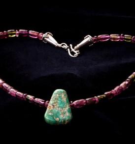 Pink & Green African Tourmaline