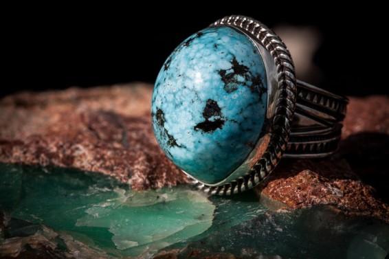 Blue Web Morenci Turquoise