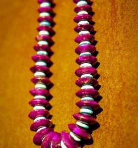 A Unique Sugilite Necklace
