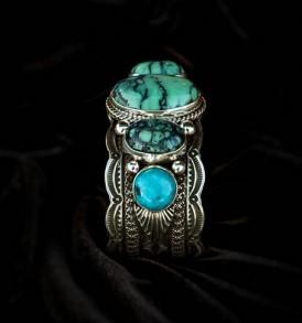 Variscite & Turquoise Bracelet